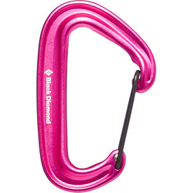 Black Diamond Miniwire Moschettone, ultra pink